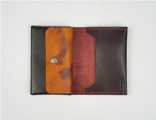 Elegantní kožená peněženka