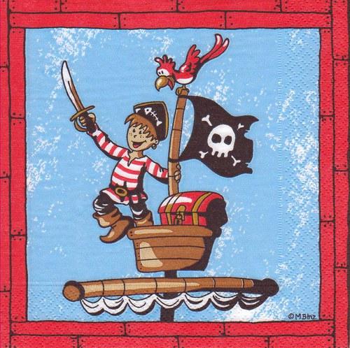 Ubrousek - pirát