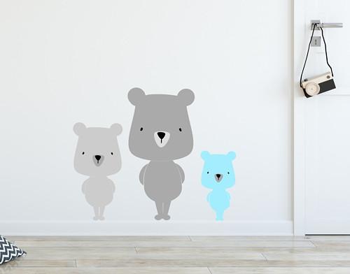 Medvědí rodinka č. 4, 38 odstínů na výběr