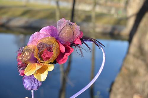 Podzimní víla - čelenka