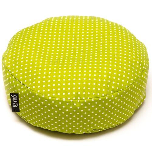 Sedací-meditační polštářek - hráškový - BIO