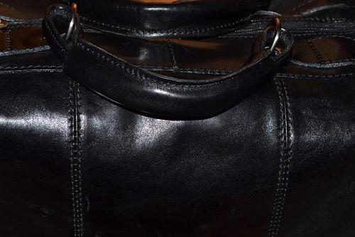 Víkend v Paříži  - cestovní taška kožená