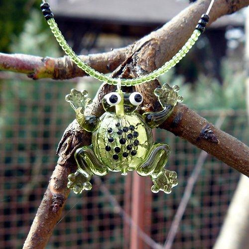 Žába olivín