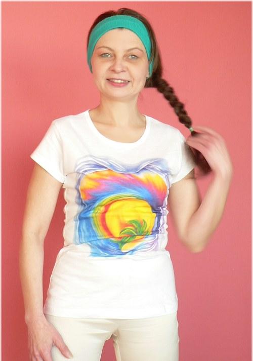 Stimulační tričko Naděje - propasované