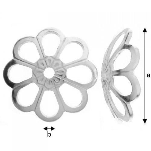 Kaplík stříbro Ag 925/1000, 2 ks