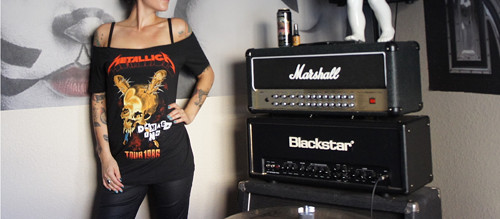 Metallica koncertni tricko punk rock