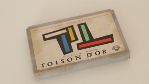 Pastelové barvy v originální krabičce