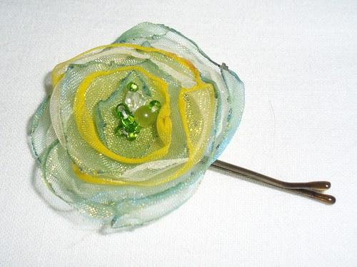 Malá zelená kytička