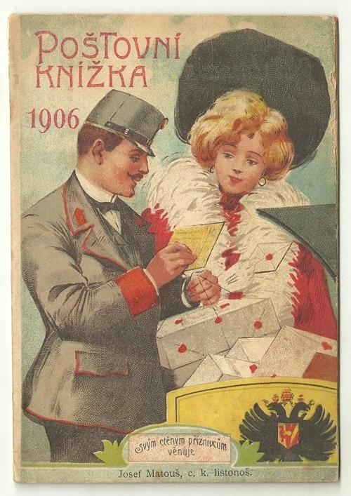 Poštovní knížka 1906