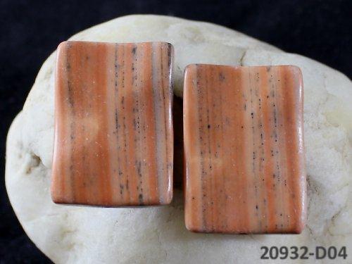 20932-D04 JASPIS dva spárované kameny 35/25