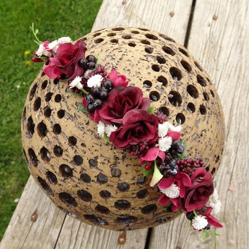 Květinový oblouk do vlasů Ragnhild
