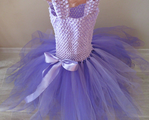 Dlouhé tylové šaty-pro větší slečny-2-8let IHNED