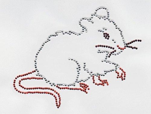 Nažehlovací motiv - myška