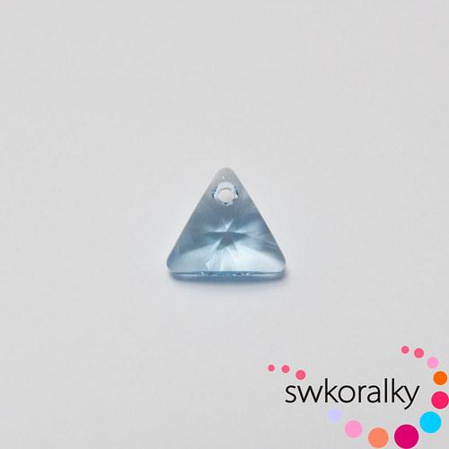 XILION TROJŮHELNÍK 12 SWAROVSKI ® ELEMENTS aqua