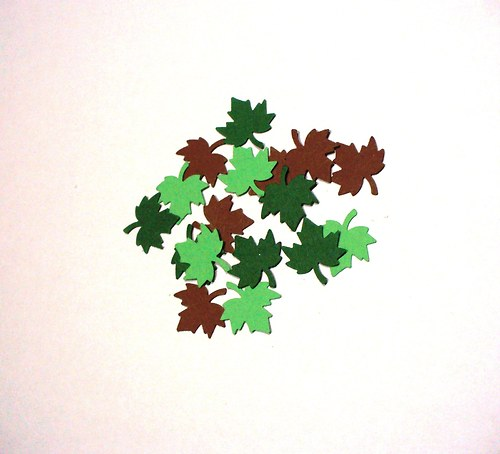 javorový list menší/ 50ks