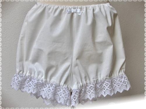 Classic Bloomers: White