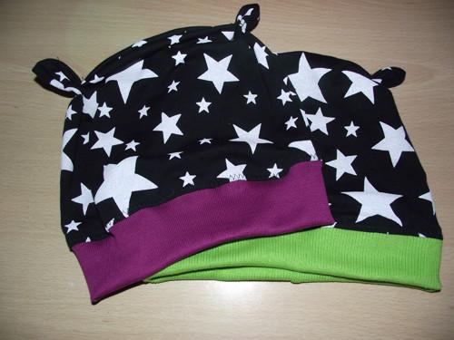 Hvězdná- dětská jarní čepice