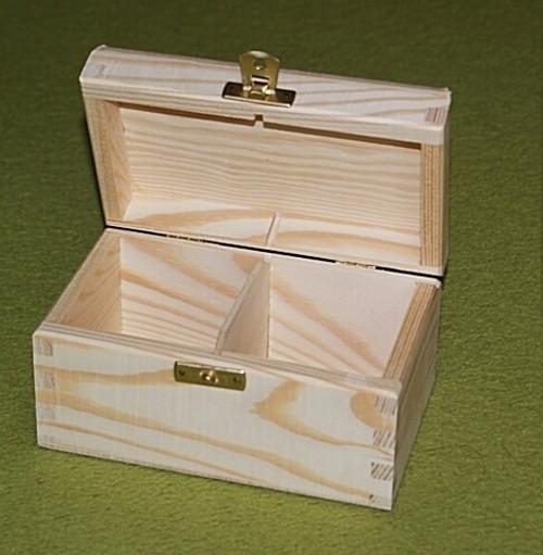 Krabička na čaj - 2 komory (PHU-CAJOVKA-2)