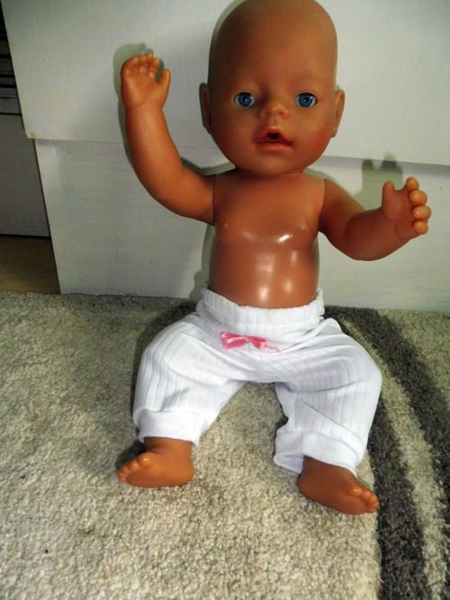 tepláčky pro Baby born (40-43 cm)