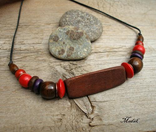 Kolekce Flowering wood LIV. ... náhrdelník