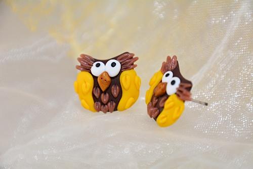 Peckovní žluté sovičky