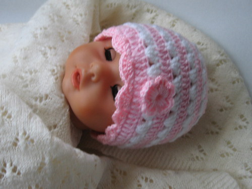Čepička na miminko  36-39 cm