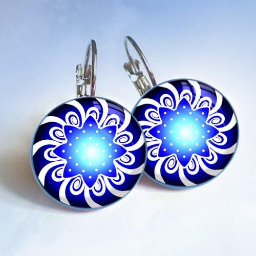 Rozetky - modré