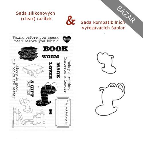 {BAZAR} Set - CB/Book Worm