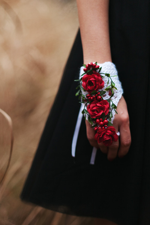 rukavička by The world of flowers