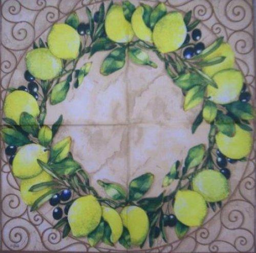 Ubrousek citrony