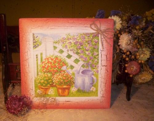 Zahrada v květu.......