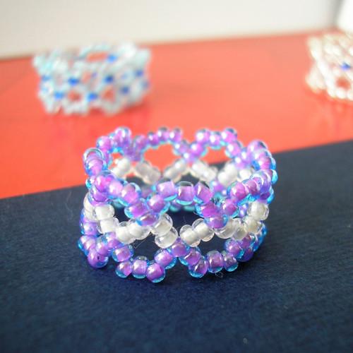 Prsten fialový (8)
