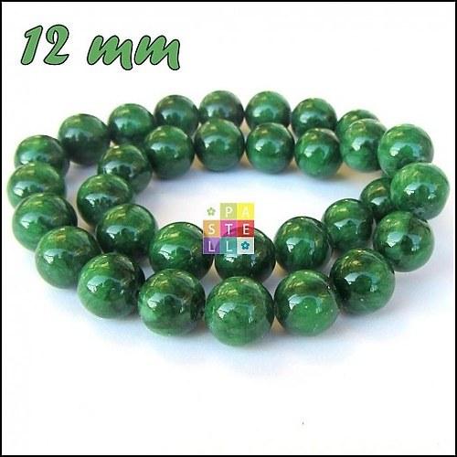 (0397) Zelený mramor, 12 mm - 1 ks