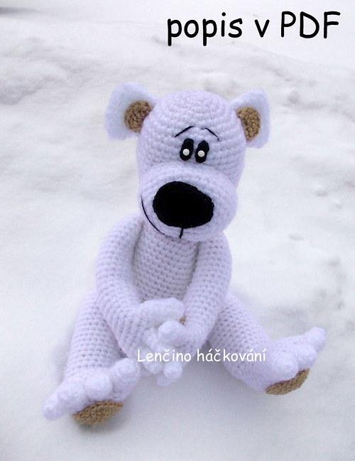 Popis na ledního medvěda