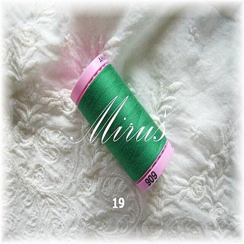 Nit zelená č.19