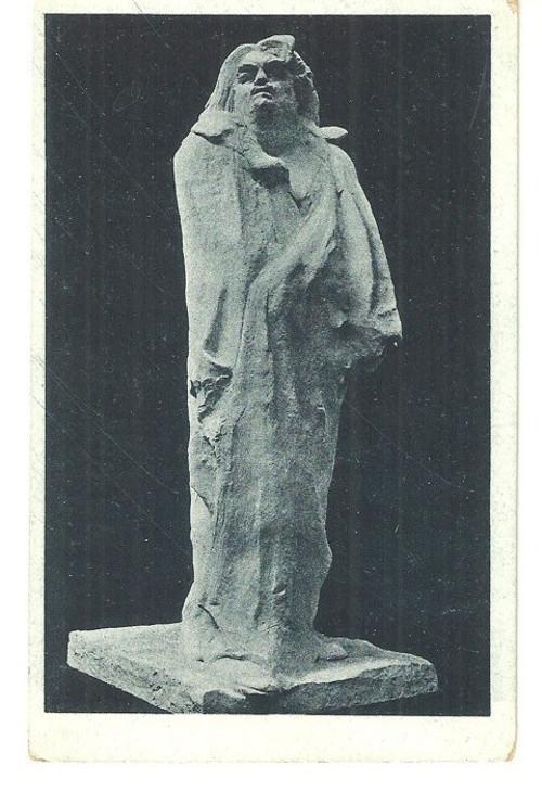 Umělecká pohlednice Auguste Rodin Balzac