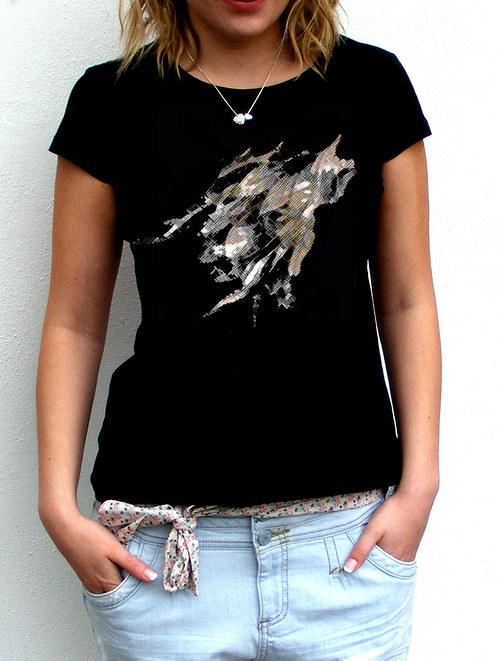 Dámské tričko ,,Listy´´