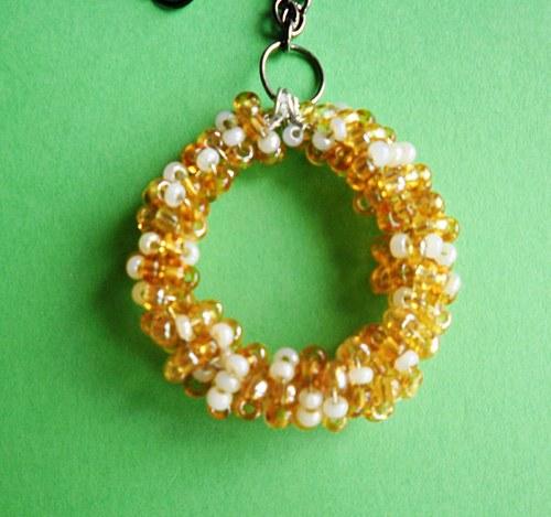 náhrdelník spirálkově
