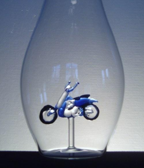láhev s motorkou CHOPPREM 0,5 l