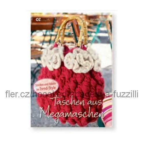 Taschen aus Megamaschen (Tvorba tašky velkými oky)