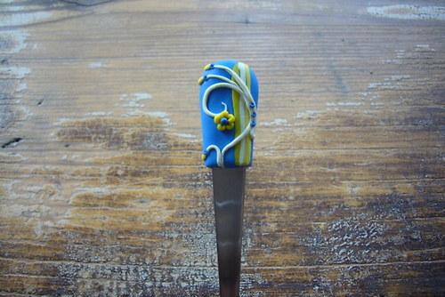 Modro-žlutá