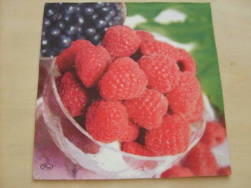 Ubrousek - maliny a borůvky
