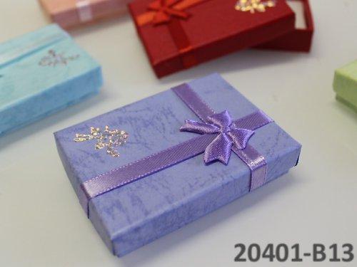 20401-B13 Dárková krabička nízká 5/7/1.5 FIALKOVÁ