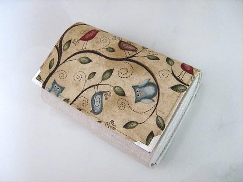 Pípání a houkání v menším - peněženka
