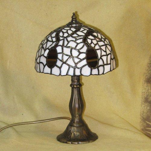 """Tiffany lampa \"""" Černá vejce na smetaně\"""""""