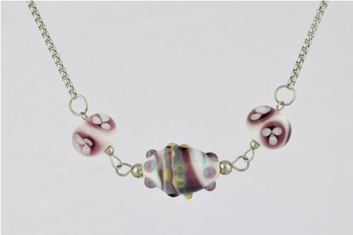 Okamžik (náhrdelník z vinutek)