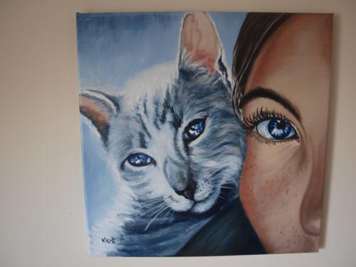 Oči kočičí....