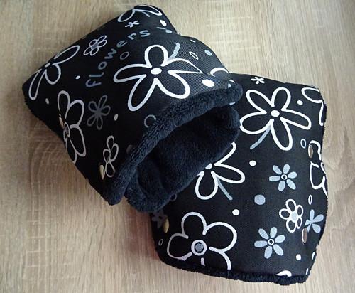 Rozdělený rukávník na kočárek - mnoho vzorů