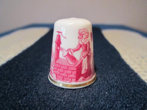 Porcelánový náprstek WGPH Spode England