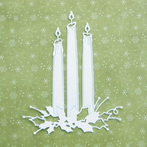 Vysoké svíce s cesmínou